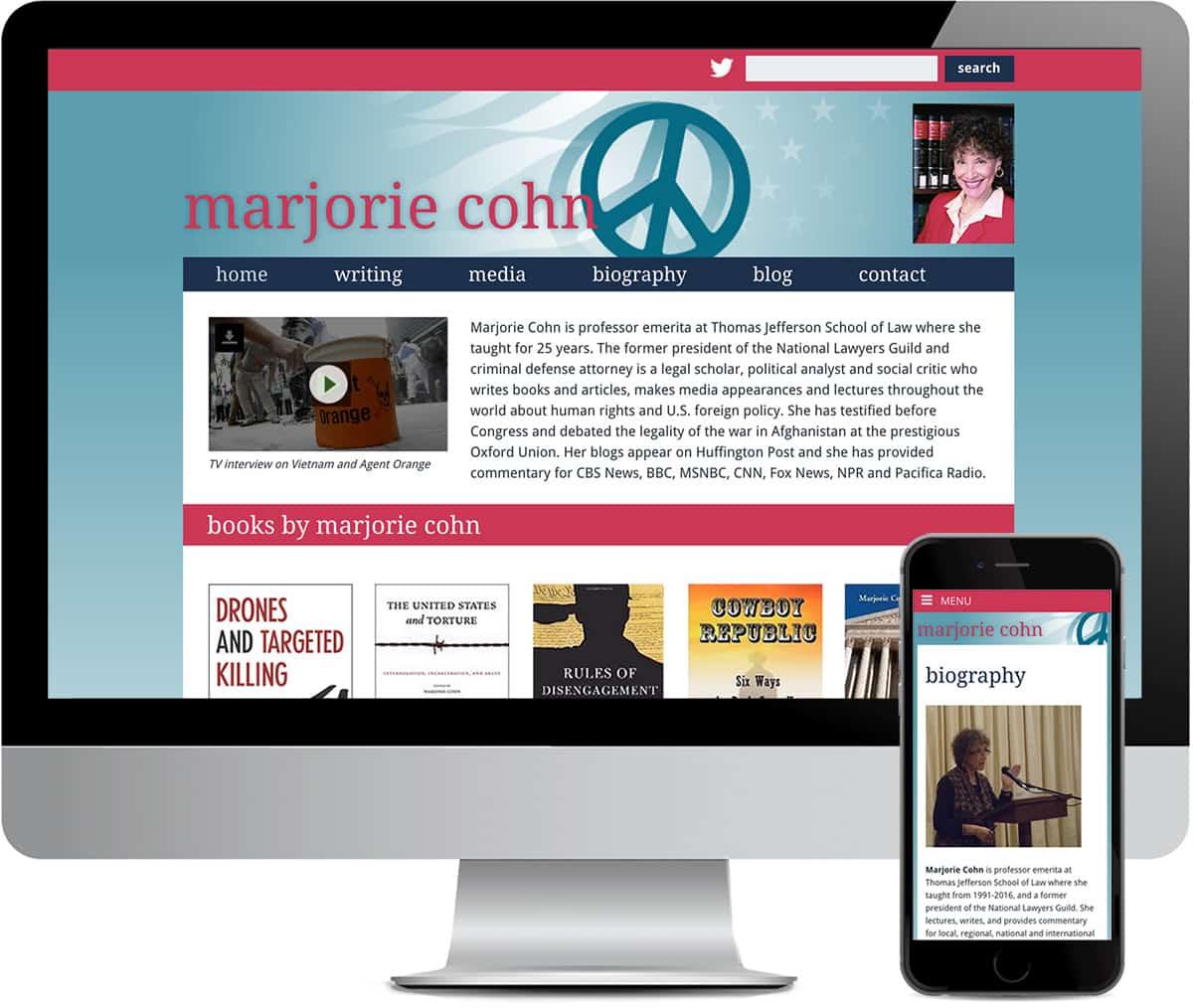 marjorie cohn website