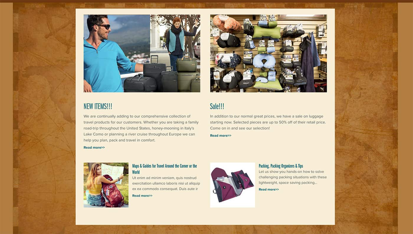 travelers depot website