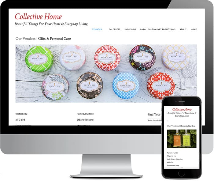Collective Home Reps Designed by DMY Studio