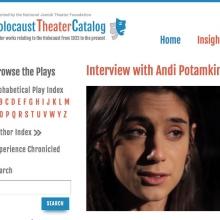 Holocaust Theater Catalog